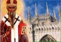 Благодарна пісня святителя Амвросія Медіоланського