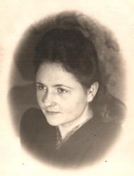 Марія після повернення з Воркути