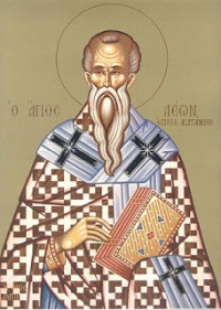 преподобний Лев єпископ Катанський