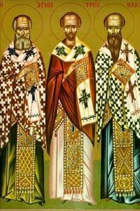 три святителі