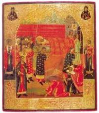 перенесення мощей св Миколая