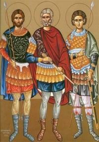 """Результат пошуку зображень за запитом """"Святих мучеників Прова, Тараха й Андроника"""""""