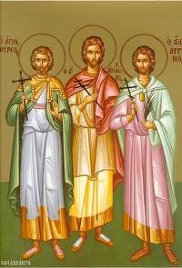 мучеників Тирса, Левкія, Филимона, Аполонія