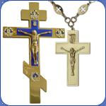 Хрести металеві