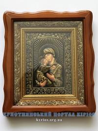 Ікона Богородиці. Вишгородська (Володимирська)